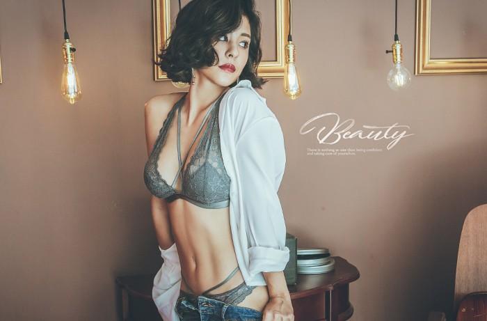 曼哈頓約會 性感美背薄襯成套內衣褲
