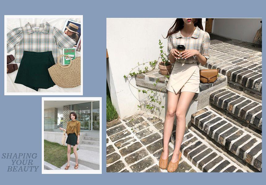 一片式短褲裙