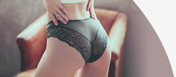 歐系蕾絲內褲