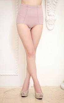 完美塑型 高腰束腹修飾顯瘦褲 M-2XL Anymore - 藕粉