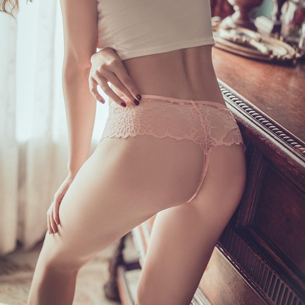 天生玩家 性感透膚蕾絲丁字褲 M-L anSubRosa,蕾絲內褲,透氣,丁字褲,,181600