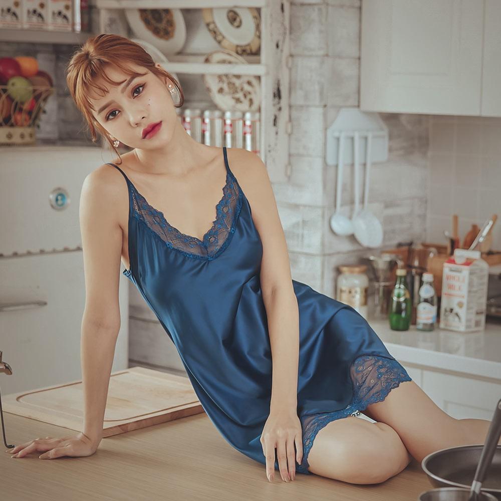 星辰倒數 優雅緞面蕾絲連身睡衣 FREE anSubRosa,,新色上市!!,181940,星辰倒數優雅緞面蕾絲連身睡衣FREEanSubRosa,絲滑觸感質感緞面