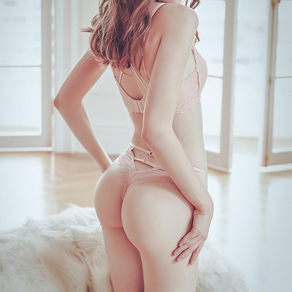 來杯馬丁尼 蕾絲緞面丁字褲 FREE anSubRosa,蕾絲內褲,透氣,丁字褲,柔軟緞面,