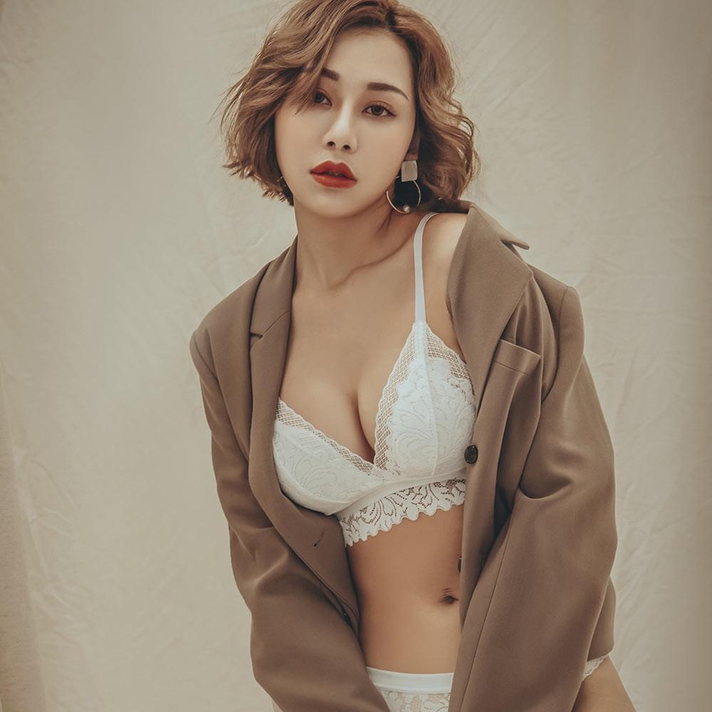 第一杯特調 蕾絲薄襯內衣褲 S-XL anSubRosa,薄襯內衣,無鋼圈,蕾絲薄襯內衣,成套內衣褲,防激凸