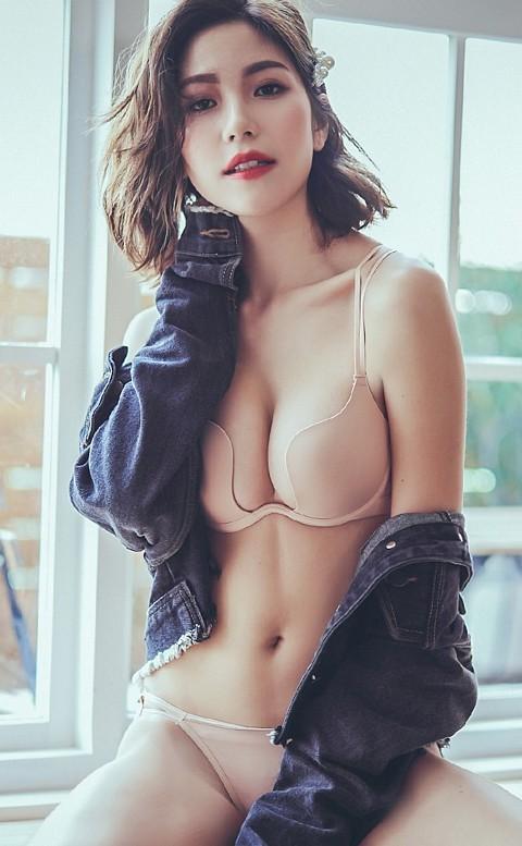 性感靈魂樂 深V爆乳美背內衣褲 B-D anSubRosa - 膚色