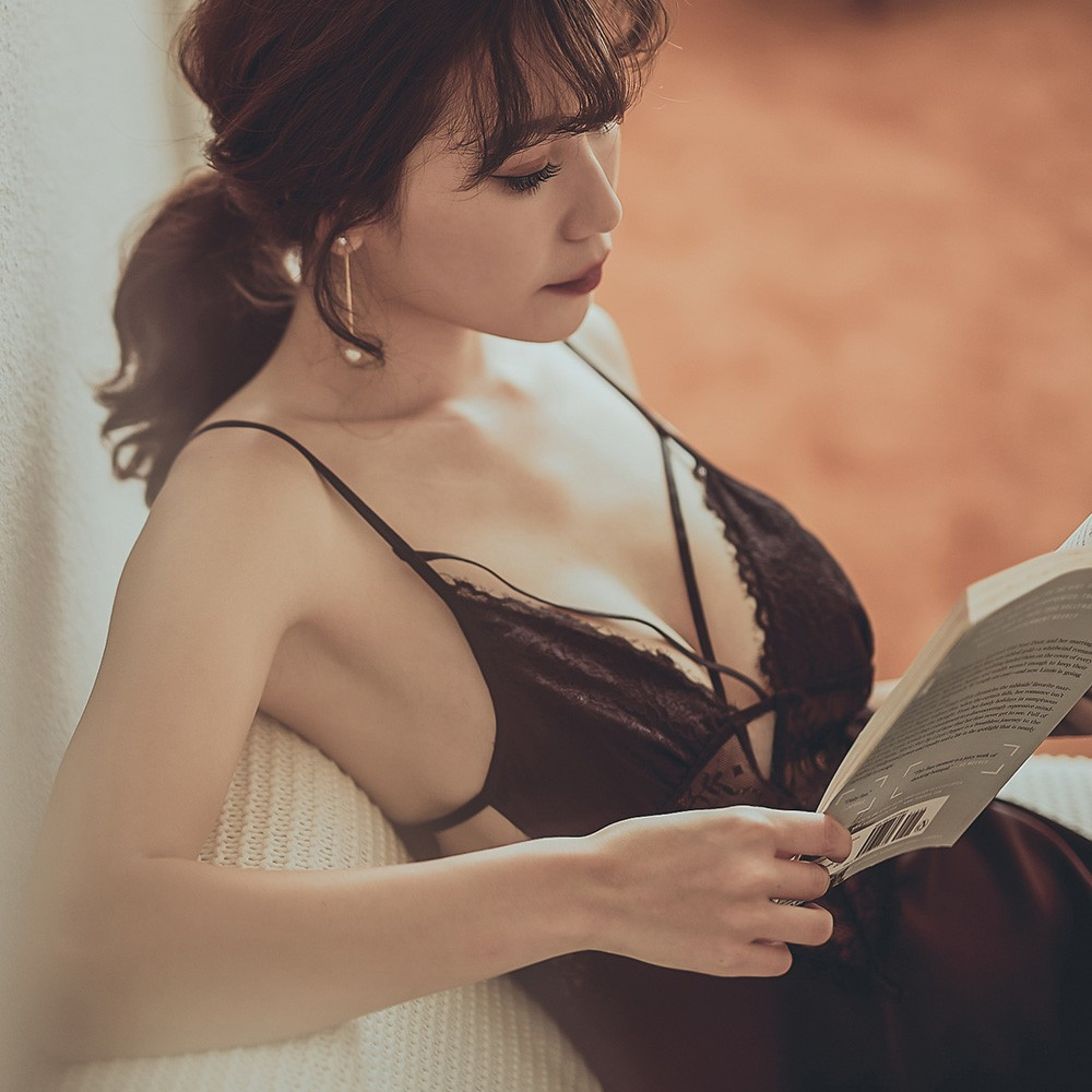 我 很性感 絲緞蕾絲顯乳睡衣 M-L  anSubRosa,,,201290,我很性感絲緞蕾絲顯乳睡衣M-LanSubRosa,蕾絲緞的連身睡衣迷人指標