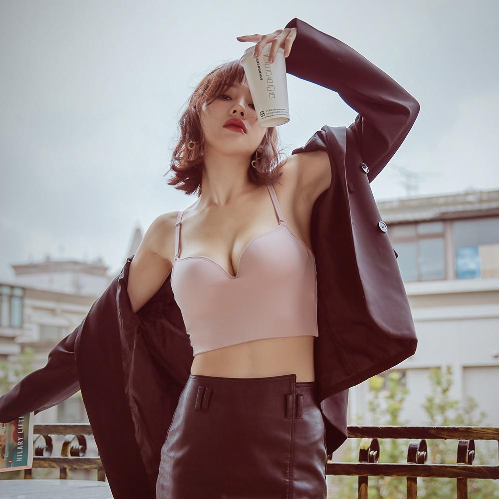 時髦寵兒 美背短版無鋼圈BRATOP XS-3XL  anSubRosa,,新色上市!!,219050,時髦寵兒美背短版無鋼圈BRATOPXS-3XLanSubRosa,集中穩定胸型罩衫女孩必備款