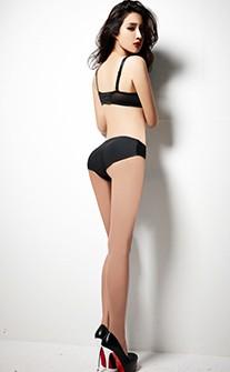 無痕翹挺豐臀加墊褲 S-XL anSubRosa - 黑色