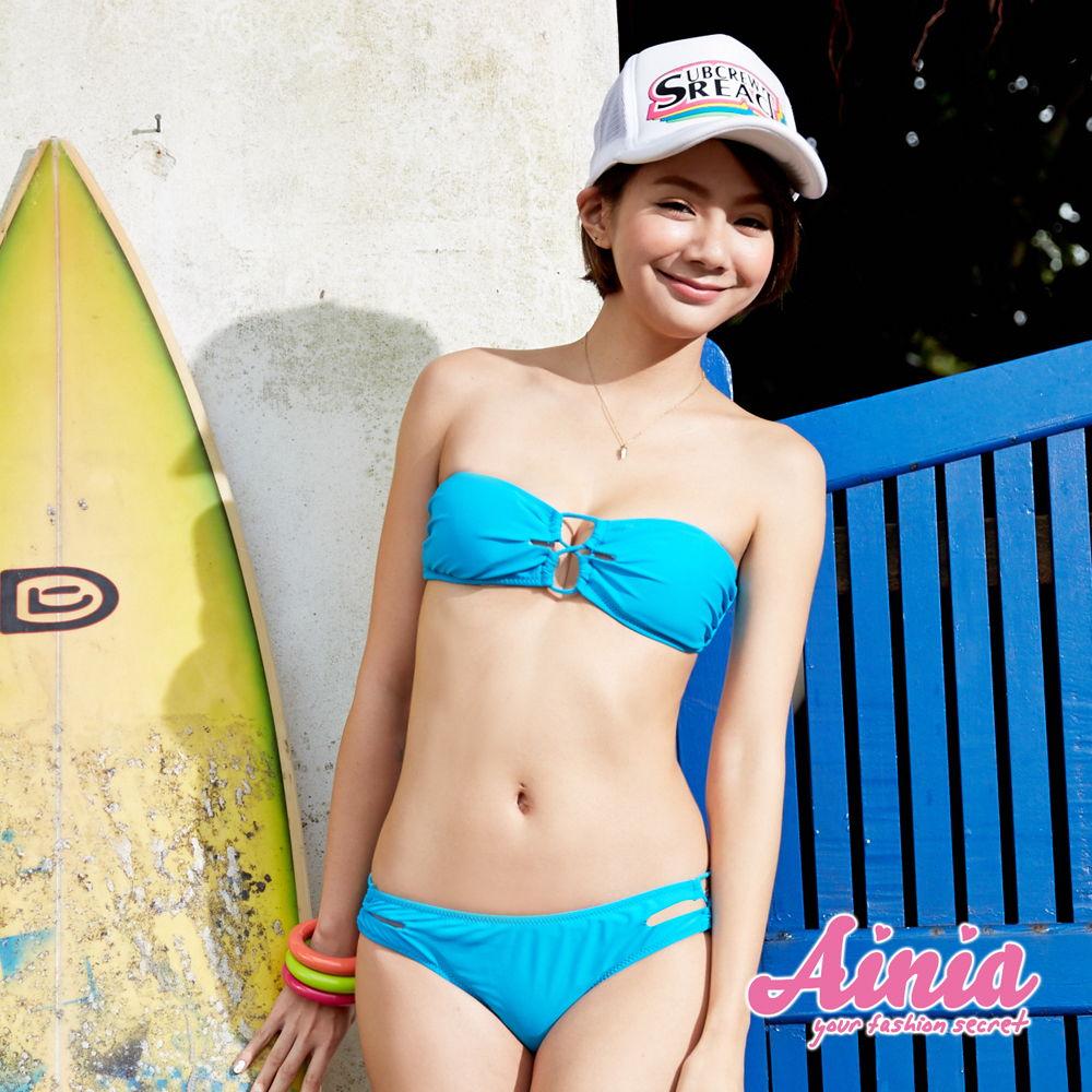 迷人巴西 顯瘦平口兩件式比基尼泳裝 M-XL AINIA,泳衣,兩件式,平口,二件,Ania