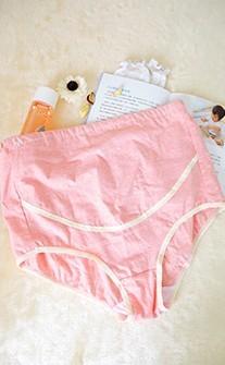 單純美麗 可調多段式孕婦內褲 L-2XL myBRA - 粉紅