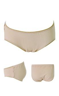 好孕甜心 親膚莫代爾可調低腰孕婦內褲 FREE myBRA - 膚色