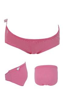 甜蜜生活 莫代爾棉可調式低腰孕婦內褲 FREE Leinear - 西瓜紅