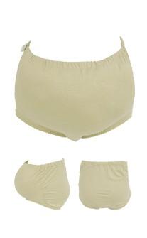 元氣媽咪 亮彩美型可調式孕婦內褲 FREE myBRA - 膚色