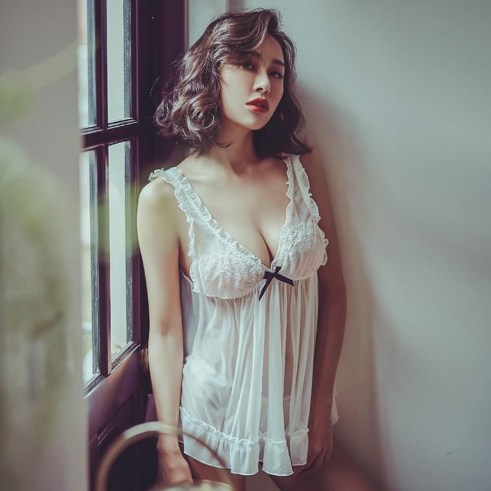 誘惑潘朵拉 透視感無襯性感睡衣 FREE anSubRosa,睡衣,連身睡衣,睡衣內衣推薦,睡衣派對,性感