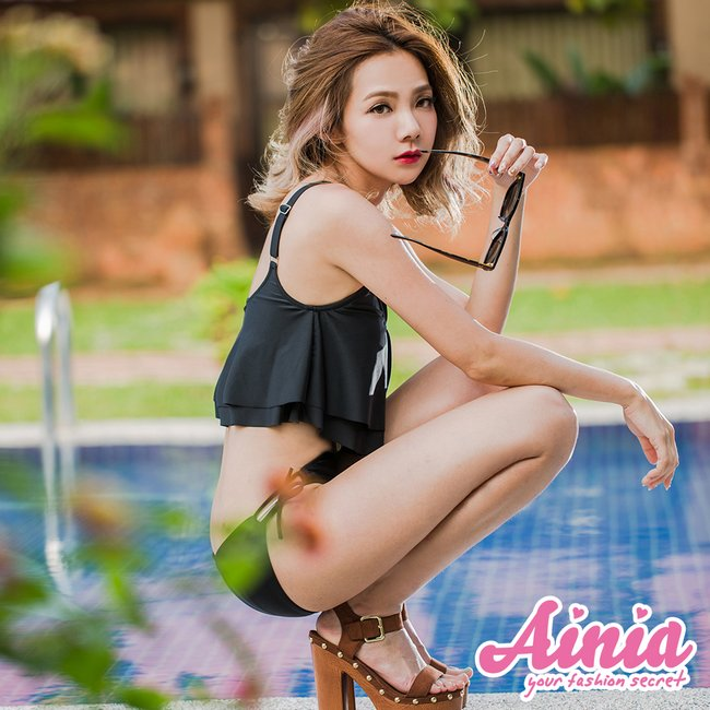 LA風潮 個性挖腰連身泳衣 M-XL AINIA,泳衣,連身泳衣,Ania,Alnla,One Girl