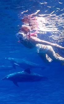 一見傾心 蕾絲個性挖腰連身泳衣 M-L AINIA - 白色