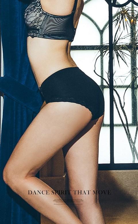 漫曼 舒適超包覆溫柔呵護內褲 M-XL anSubRosa - 黑色