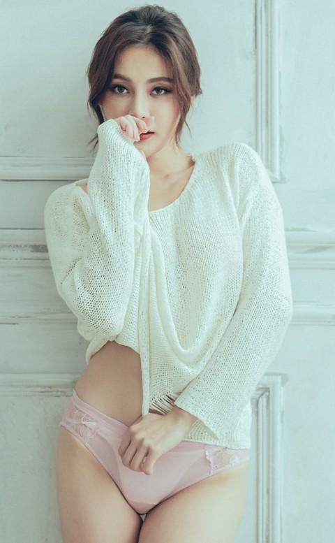 摯愛迷宮 絲滑蕾絲美尻內褲 S-L anSubRosa - 粉色