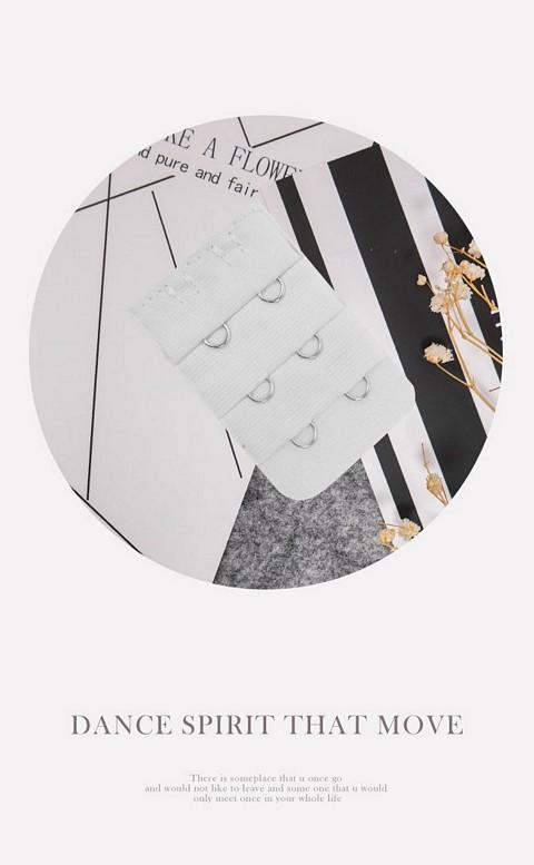 三排二鉤內衣延長背鉤 myBRA - 白色