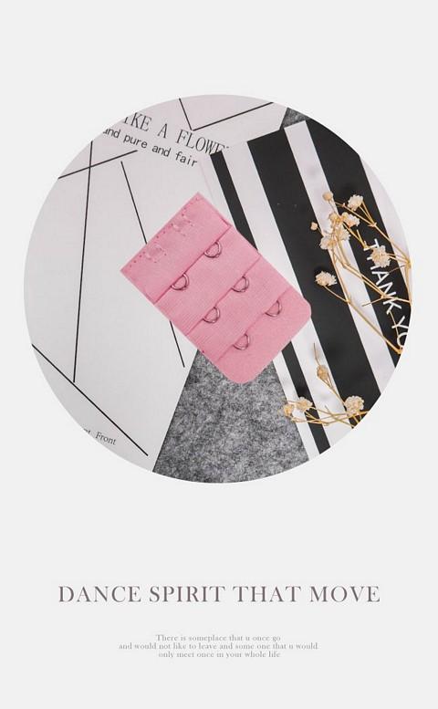 三排二鉤內衣延長背鉤 myBRA - 粉色