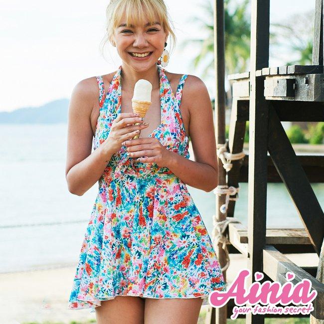 秘密花園 集中托高三件式泳衣 M AINIA,泳衣,Ania,Alnla,三件式,