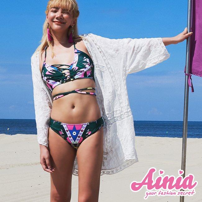 精靈國度 顯瘦遮陽流行款泳衣罩衫 FREE AINIA,泳衣,罩衫,Ania,Alnla,棉麻針織