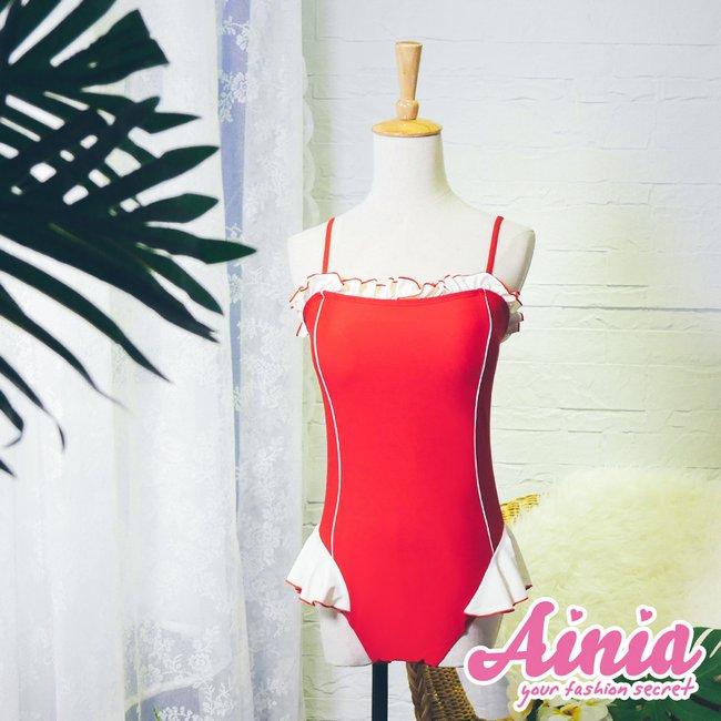 專屬女僕 多穿式顯瘦連身泳衣 M-XL AINIA,泳衣,Ania,Alnla,連身,二件