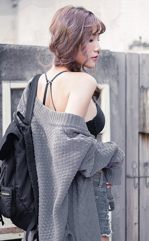 瑪莉珍娜 綁帶式重磅針織睡袍 FREE nalla - 灰色