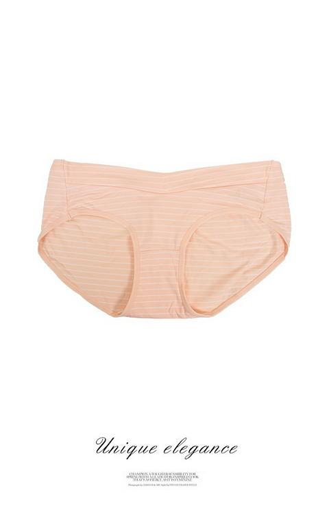 溫暖環繞 100%純棉內裡孕婦內褲 XL-2XL myBRA - 膚色