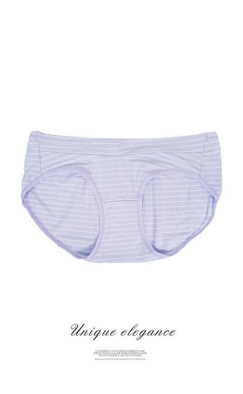 溫暖環繞 100%純棉內裡孕婦內褲 XL-2XL myBRA - 紫色