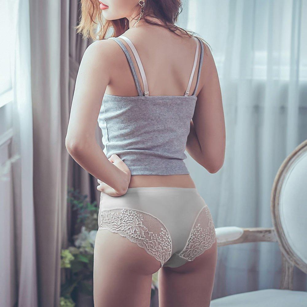 香榭蘿蔓 絲光蕾絲無痕包臀內褲 L-XL anSubRosa,內褲,蕾絲,性感,透氣,蕾絲