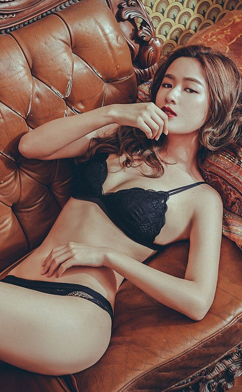愛情陷阱 氣質無鋼圈成套內衣褲 S-XL anSubRosa - 黑色