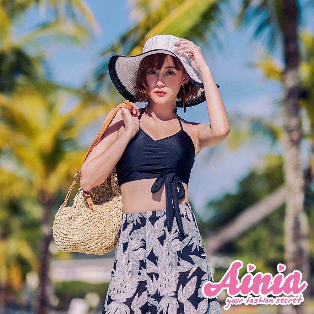 一抹陽光 衣襟交錯三件式泳衣 M-XL AINIA,泳衣,Ania,Alnla,三件式,多穿法
