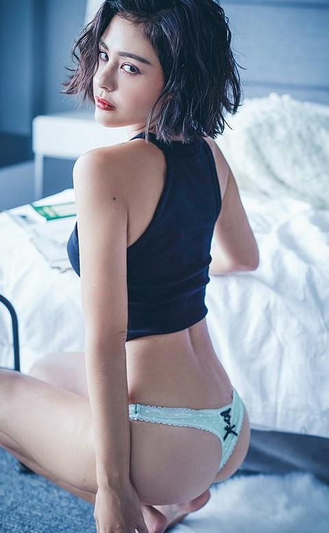 初見愛神 點點性感丁字褲 M-L anSubRosa - 藍綠