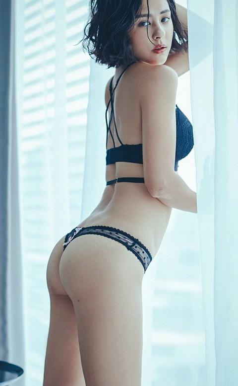 初見愛神 點點性感丁字褲 M-L anSubRosa - 黑色