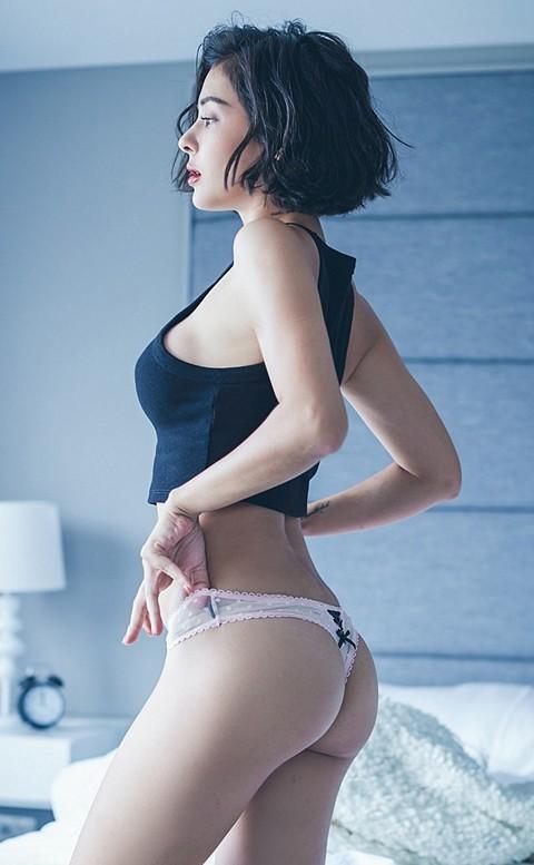 初見愛神 點點性感丁字褲 M-L anSubRosa - 粉色