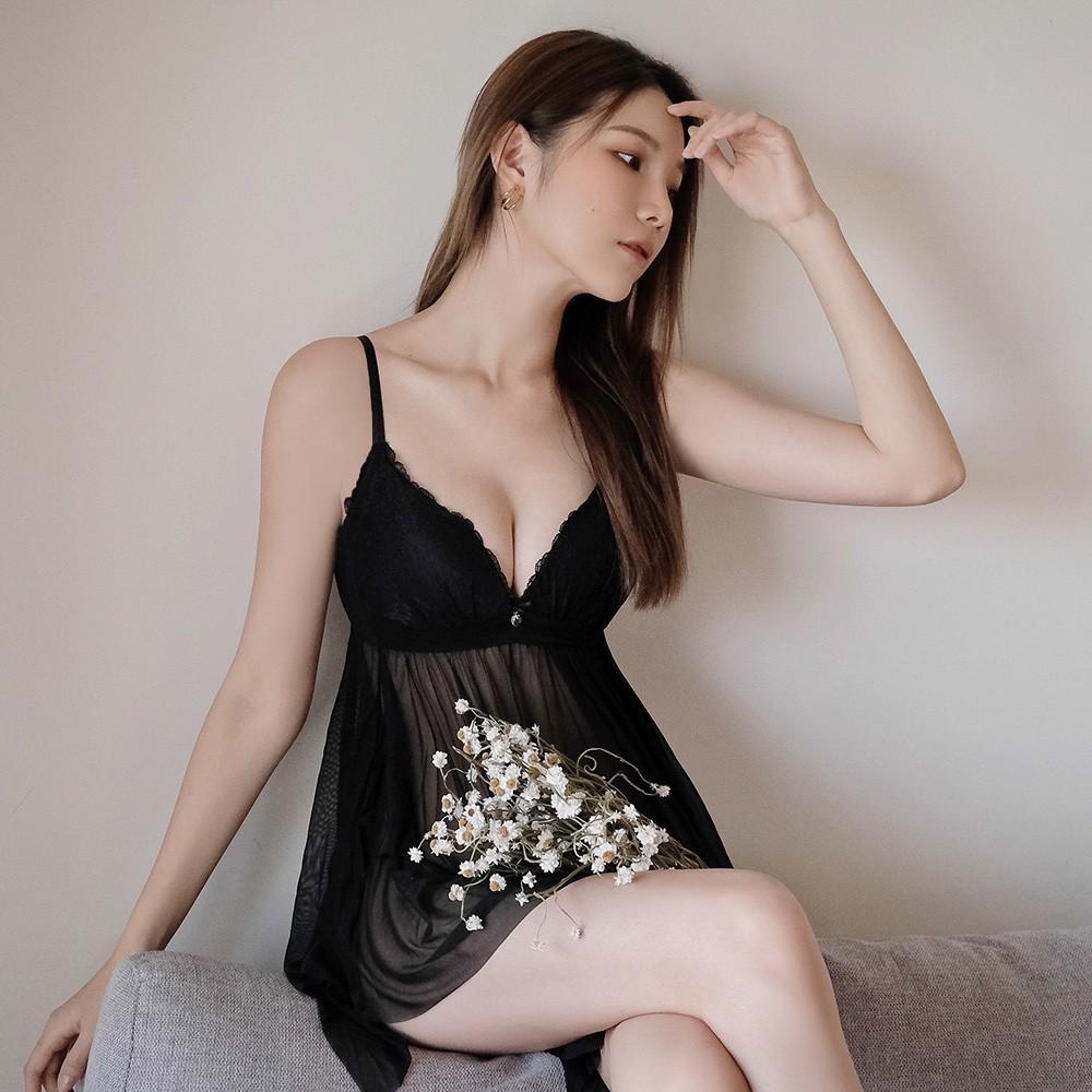 (三代)性感環抱 包覆雪紡罩杯式睡衣 XS-3XL nalla,,,199061,(三代)性感環抱包覆雪紡罩杯式睡衣XS-3XLnalla,集中無鋼圈美胸罩杯式睡衣